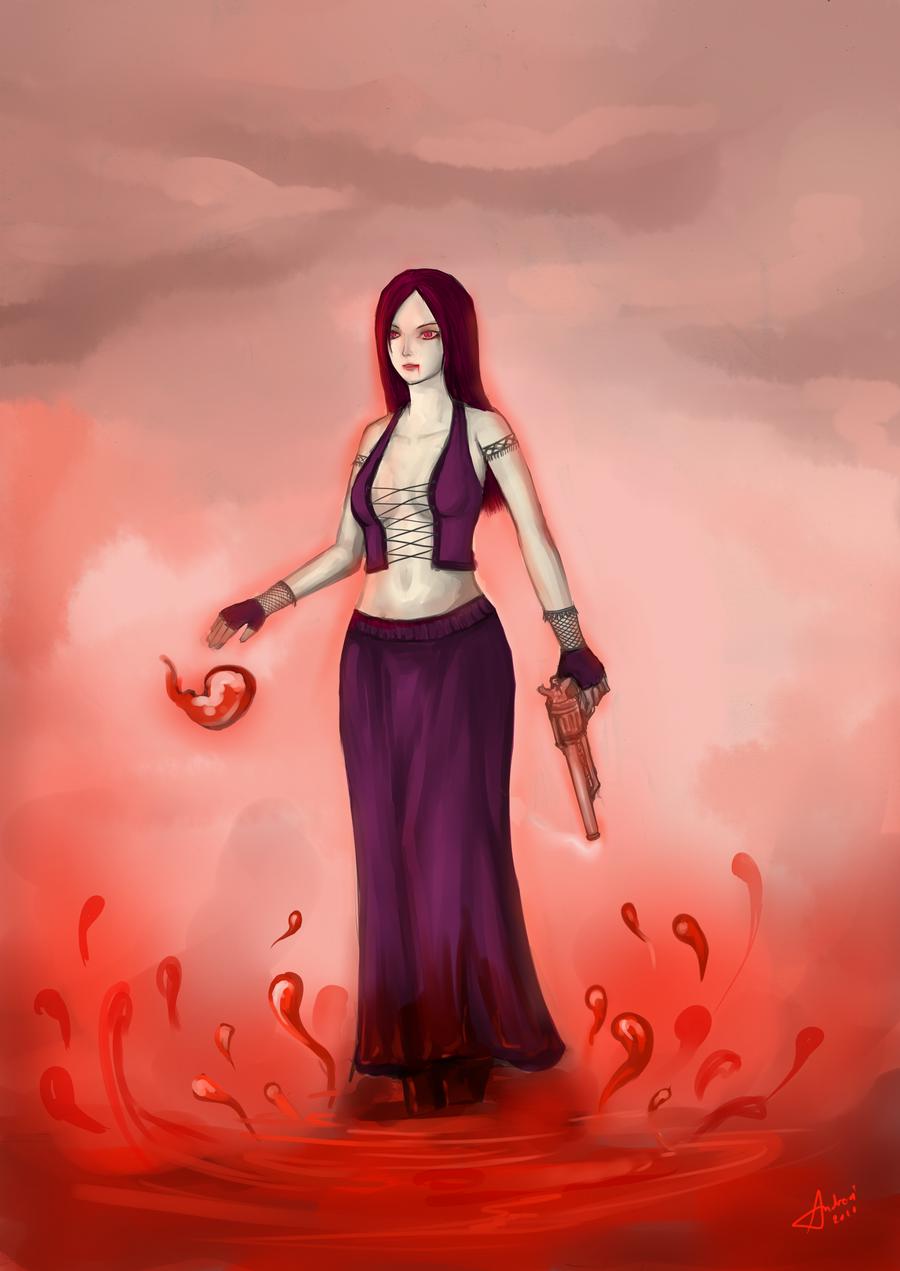 Tremere Vampire Girl by catzav3ncu