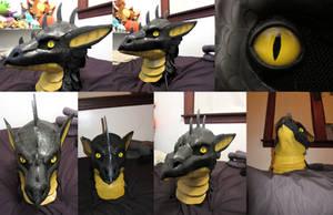 Dragon Suit Head