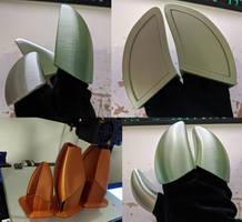 3D print cloven hand hoof STL