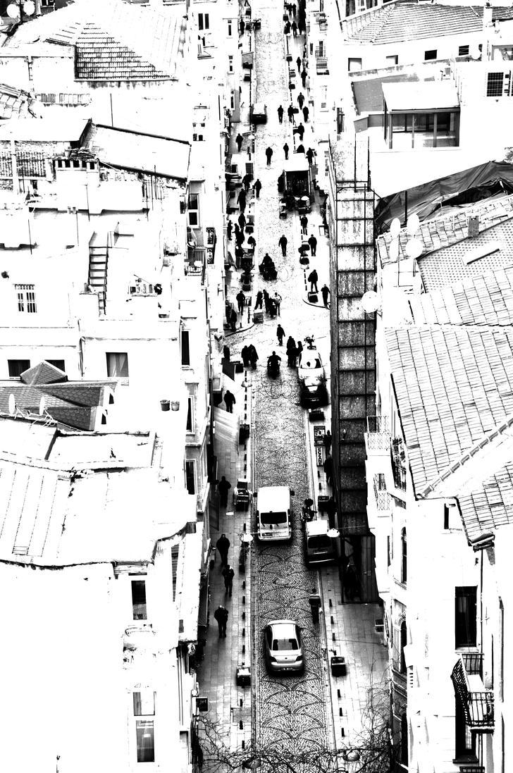 Street by bassel-alhabbal