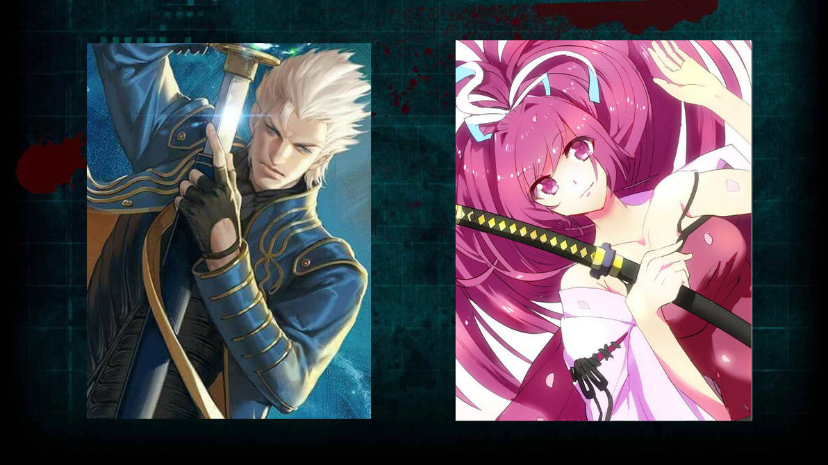 Vergil vs Yuzuriha! - Death Battle! by deathclaw153 on