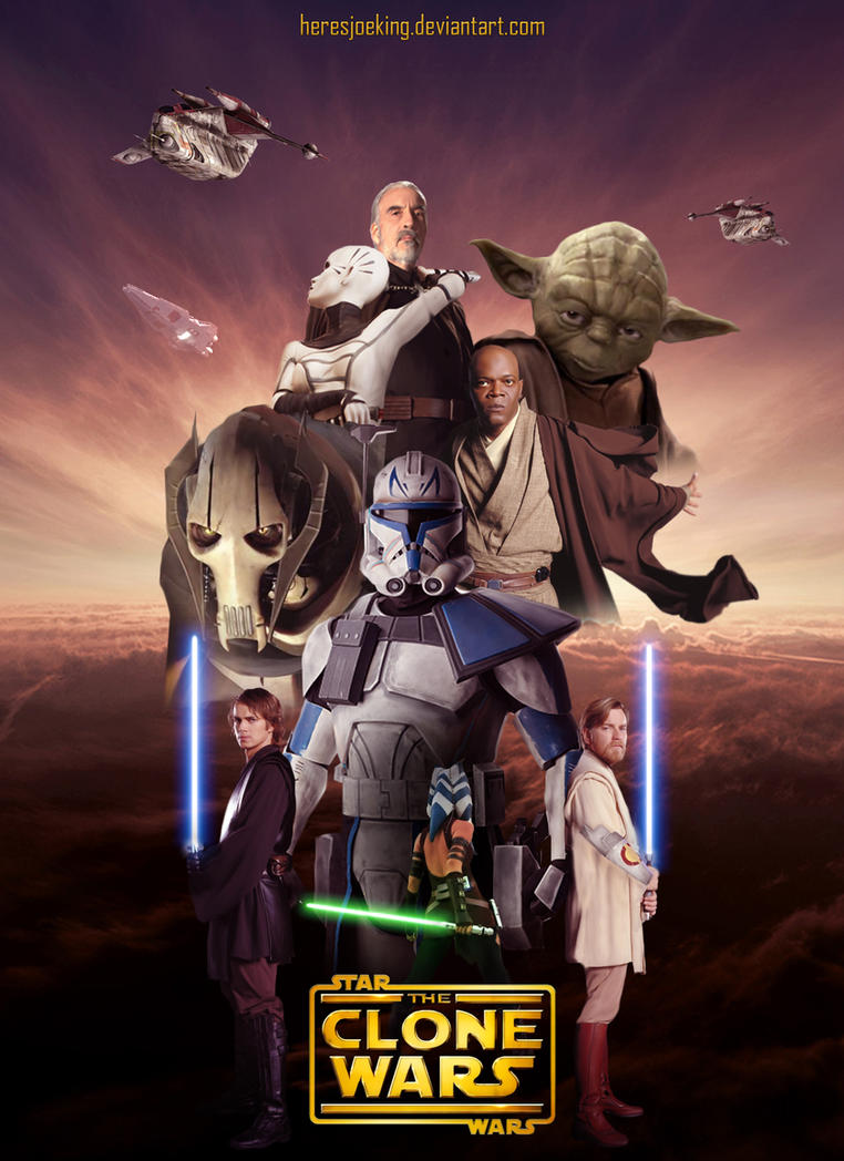 Star wars the clone wars live action film by heresjoeking on