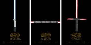 Star Wars Saga - Trilogy Posters