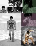 Levi titan sketches