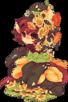 Kiwi chibi by Moewxa