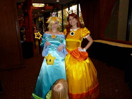 Princess Daisy and Princess Rosalina