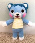 AC Bluebear Plush (Commission)