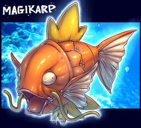 Magikarp by Bandof40Artthieves