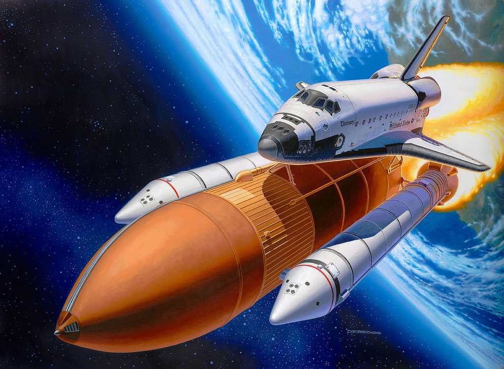 Space Shuttle Discovery Art by SyahrudinFaizal on DeviantArt