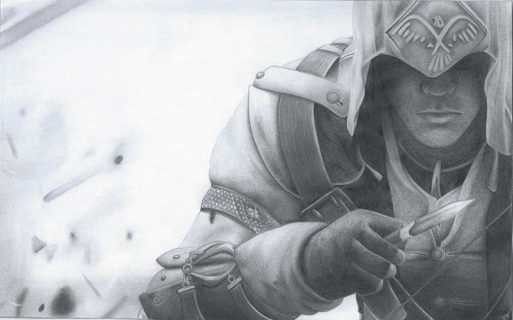 Connor Kenway by ninnakenway