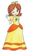 Princess Daisy by shamisen