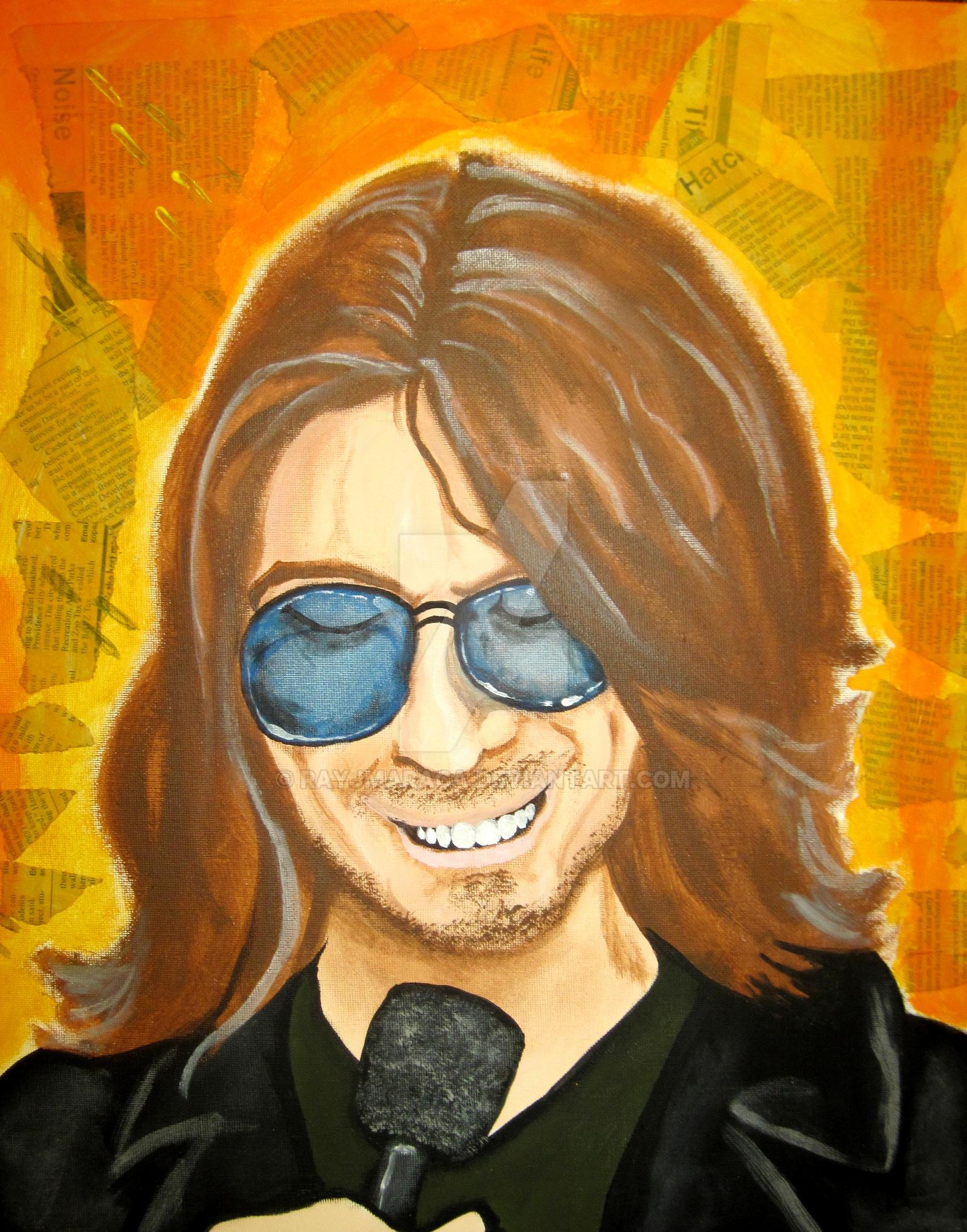 Mitch Hedberg by Rayjmaraca