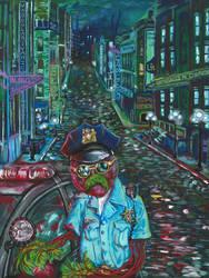 Beet Cop by Rayjmaraca