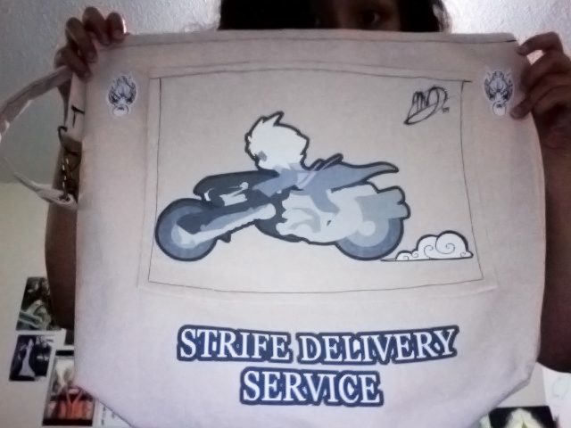 Strife Delivery Tote by Lanmana