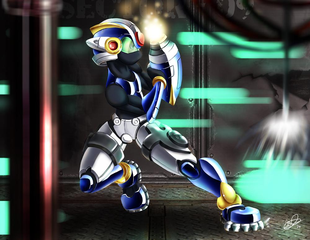 Mega Man by Lanmana