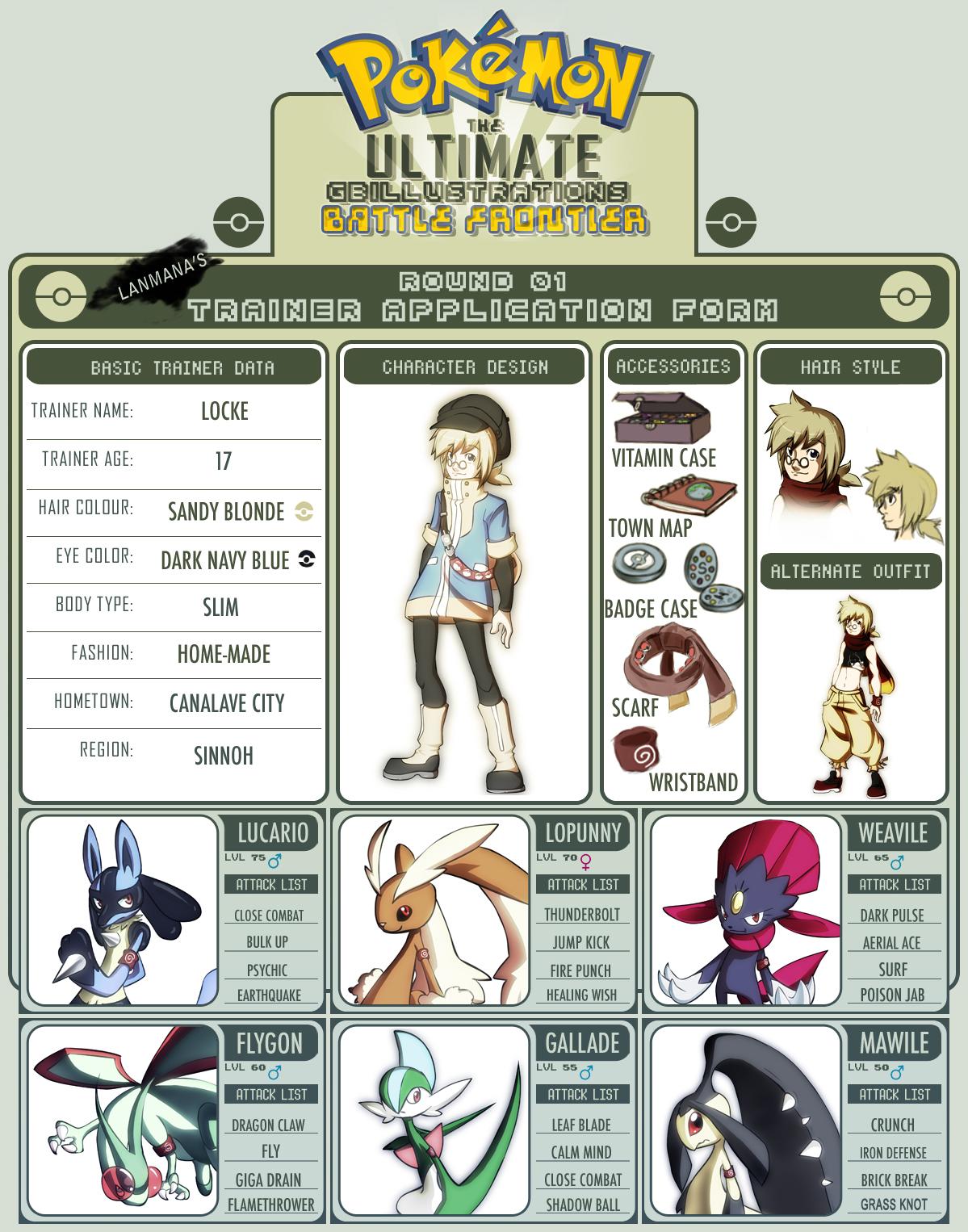 Pokemon Battle Frontier Entry by Lanmana