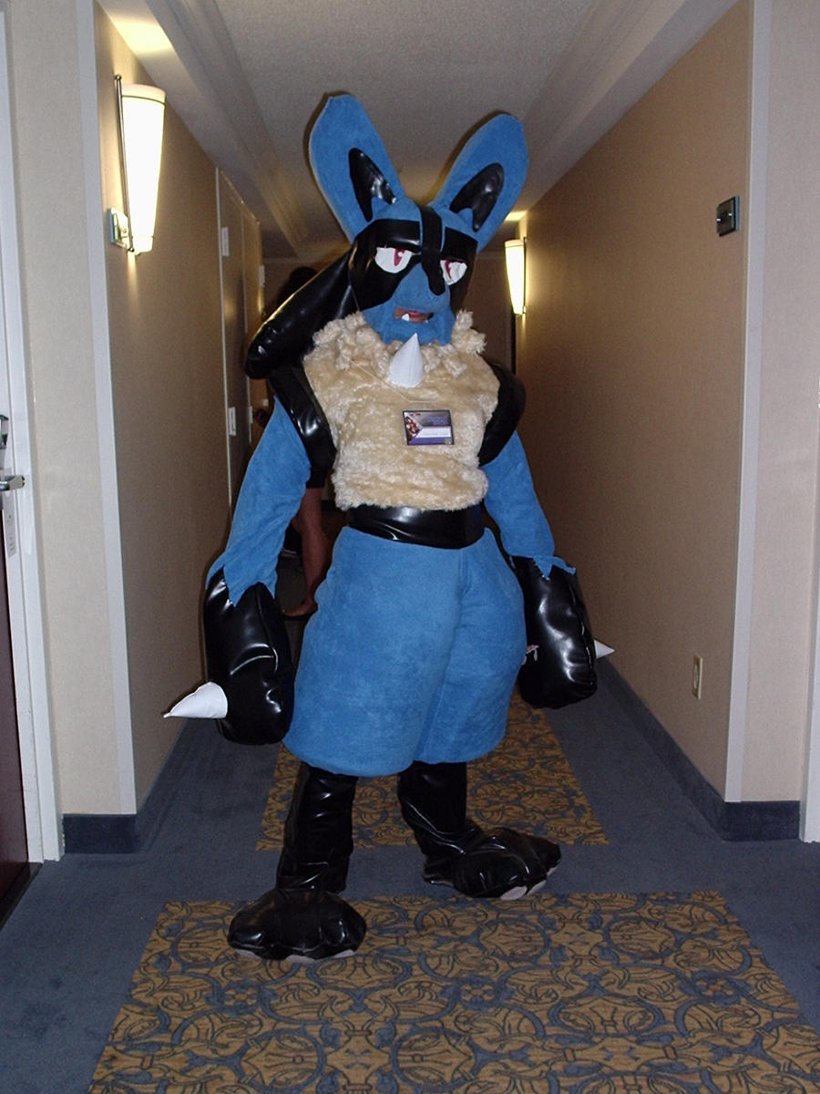my lucario cosplay 3 by lanmana on deviantart