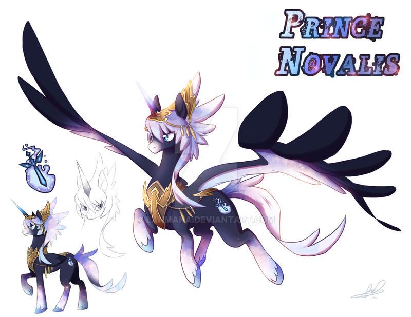 Prince Novalis Pony OC By Lanmana On DeviantArt