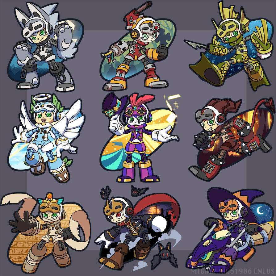 Mighty No. Halloween by Lanmana