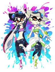 Grand Prix Squid Sisters by Lanmana