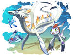 Gomamon and Plesiomon