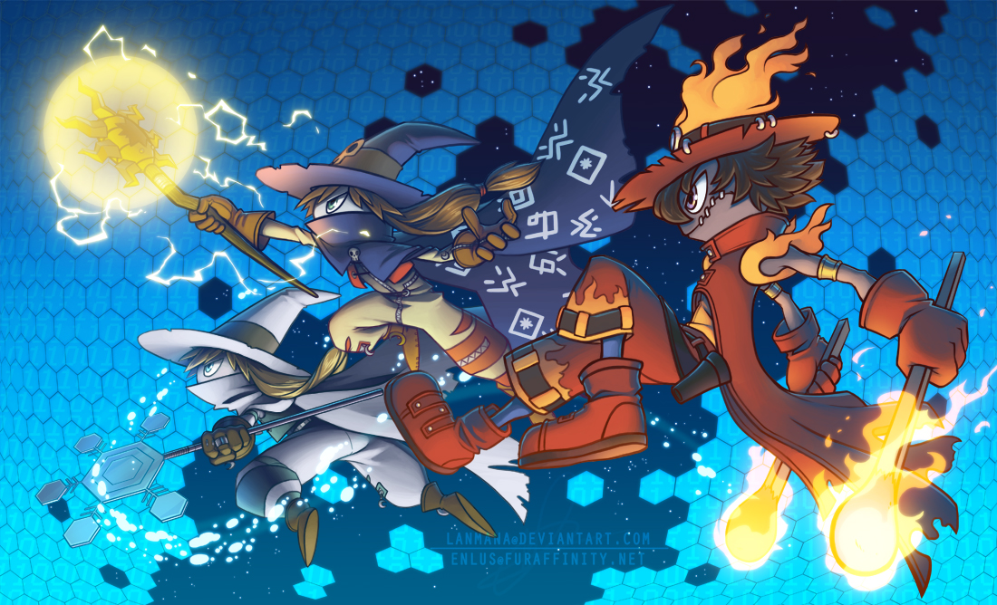The Three Wizards by Lanmana