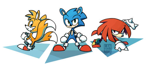 Team Sonic by Lanmana