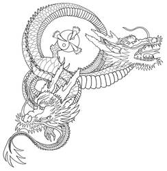 Dragon Outline WIP by Almwitch