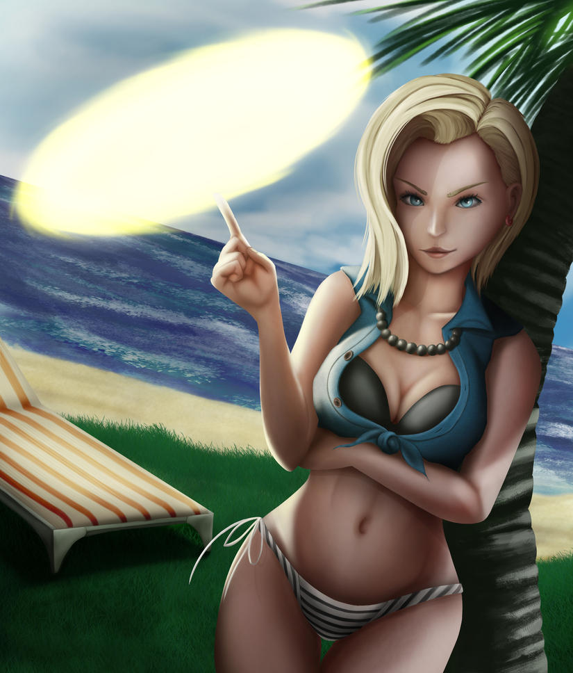 Android 18 And Tail Deviantart: Dragonball Fanart By Pepperdyne On DeviantArt