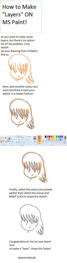 Tutorial: How to Make Layers on MS Paint