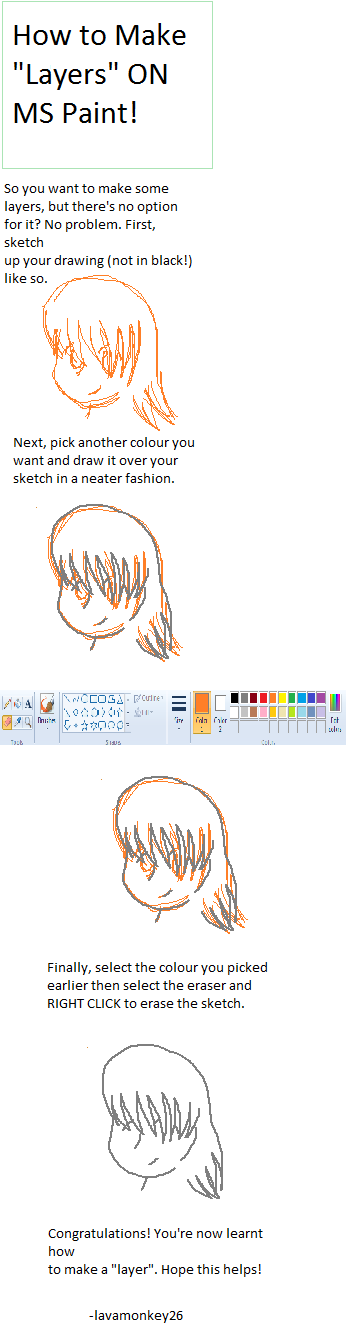 how to make ms paint in square