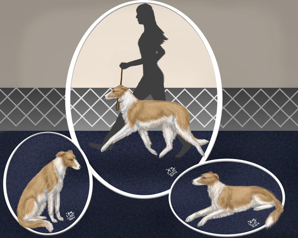 Bearzoi's Liberty Coffee - Puppy Training Program by MistyofSunrise