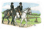 Harpley Hunt - St. George's Day by MistyofSunrise