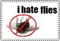 I hate flies stamp by N1000sh
