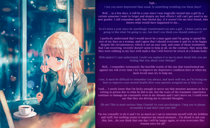 [TG Caption] At the therapist... by Lord-Enemil