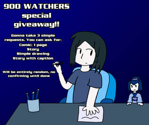 900 Watcher giveaway (Closed)