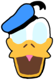Donald Duck Smash Stock
