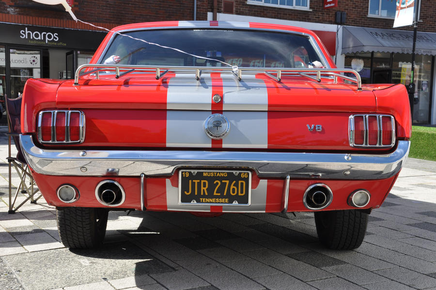 1966 Mustang Rear End By Rip Stick Racer