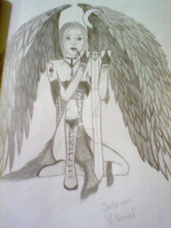 Dark Angel Faerie by LadyRavenhawk