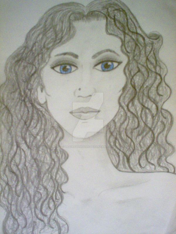 Blue Eyes by LadyRavenhawk