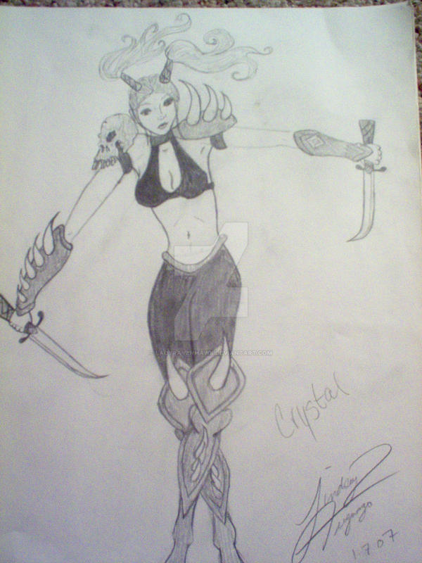 Crystal 2 by LadyRavenhawk