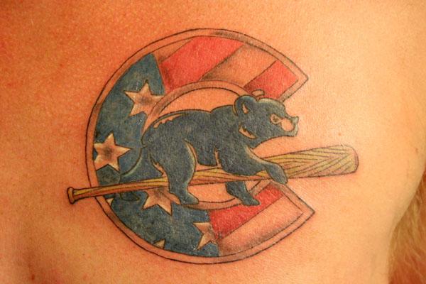 Cubs tattoo by picklefish79 on deviantart for Jake arrieta tattoo