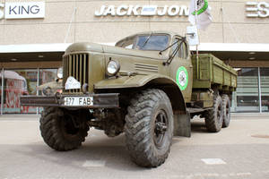 Stock - Military truck by triinustock