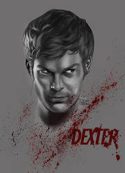 Dexter Morgan (digital coloring) by liteboxxx