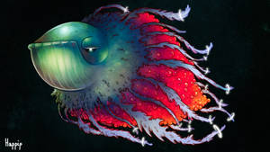Bestiary:13 - Whale Jellyfish by happip