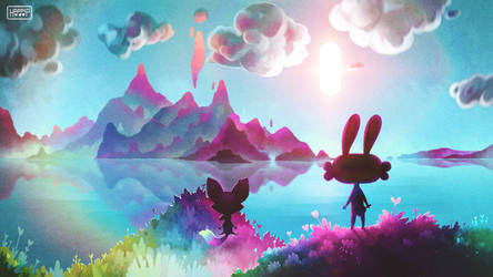 Epic Rabbit - Landscape by happip