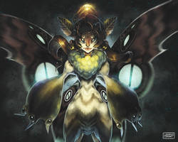 Fairy Moth Redux by happip