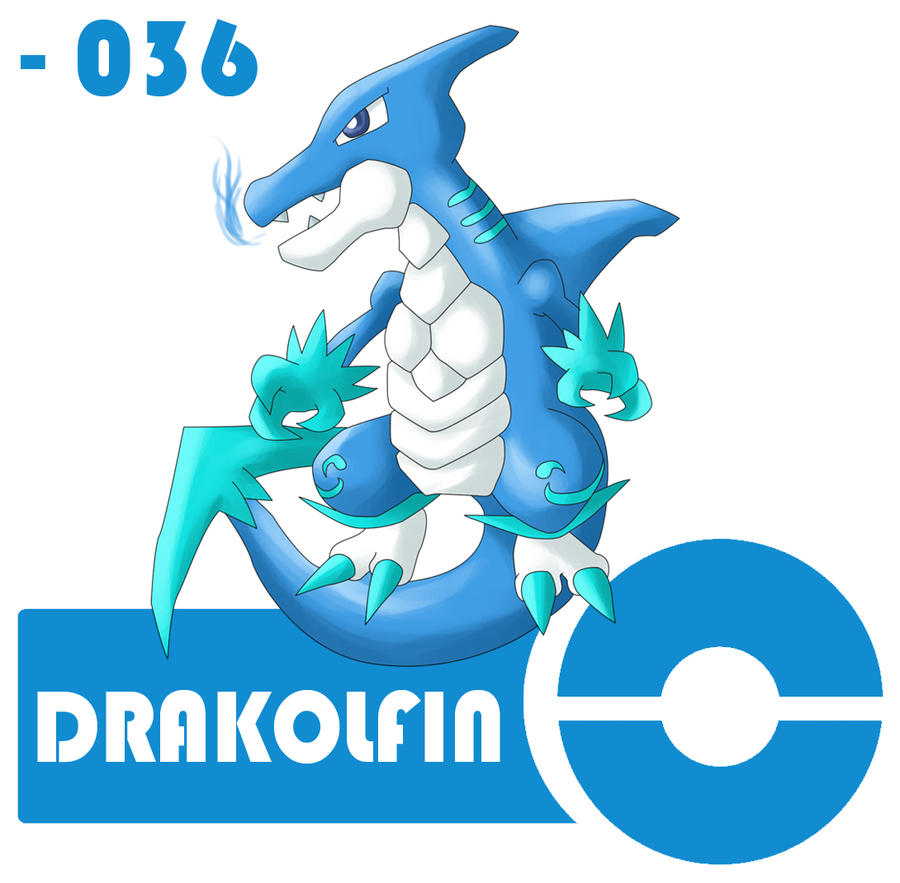 36 - Drakolfin by SoranoRegion