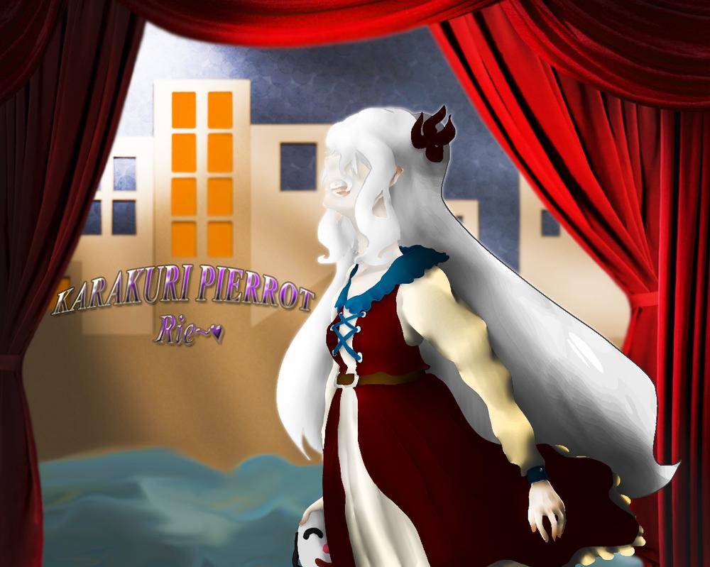 Karakuri Pierrot - Rie by Rie4everloveBEN