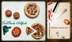 Tealpanda Artifacts - Mini Pizzas Xmas 2020 by TealpandaArtifacts